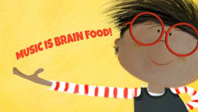 Music is Brain Food - Millie and Max Blog Post